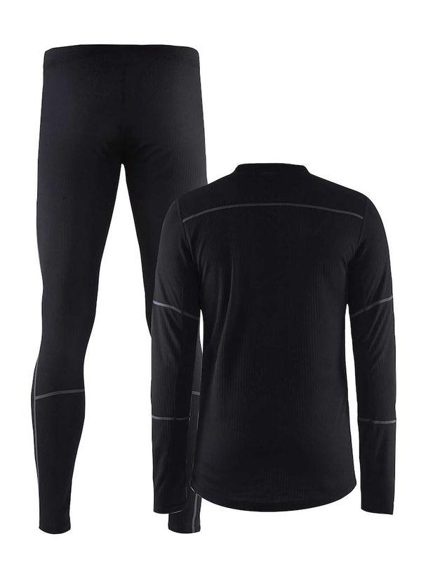 Craft Baselayer Set M BLACK-GRANITE