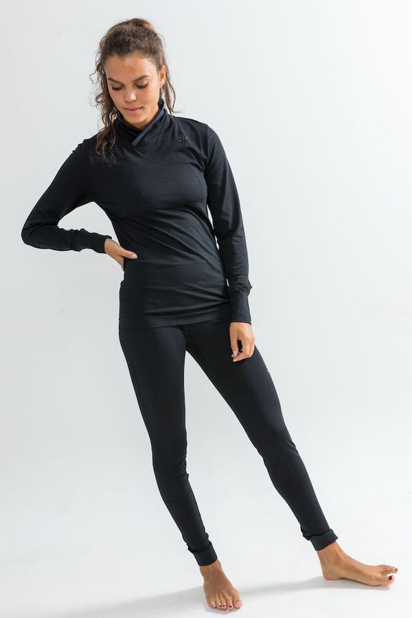 Craft Fuseknit Comfort Wrap LS W Black