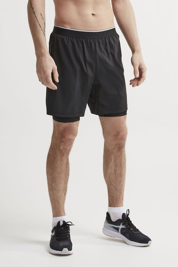 Craft Charge 2-in-1 Shorts M BLACK