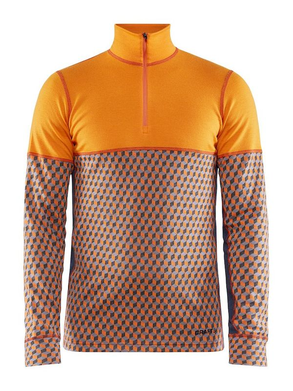Craft Merino 240 Zip M TIGER-ASPHALT