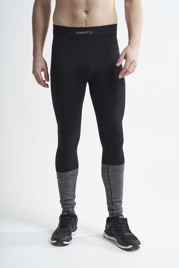 Craft Warm Intensity Pants M BLACK-BLACK MELANGE