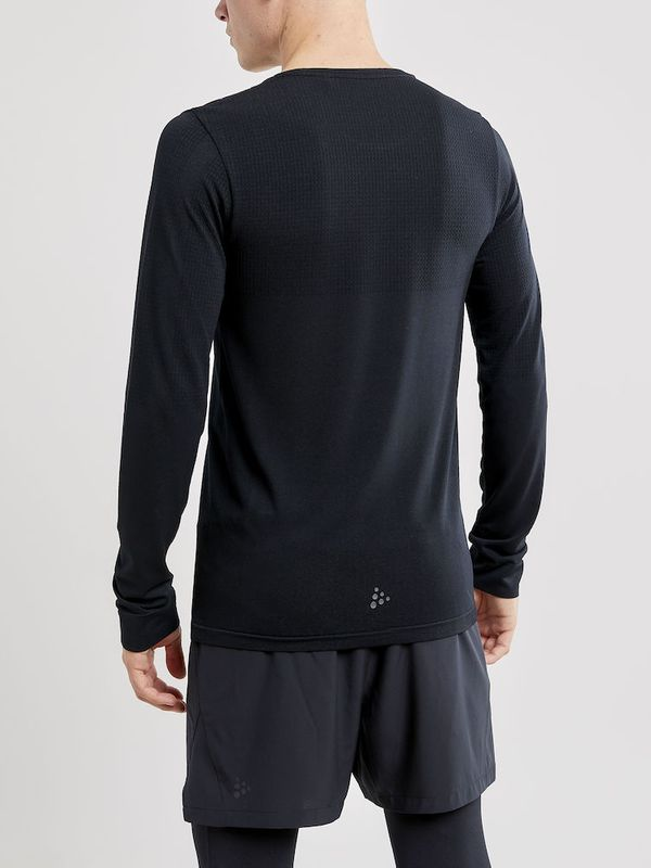 Craft Fuseknit Light RN LS M BLACK