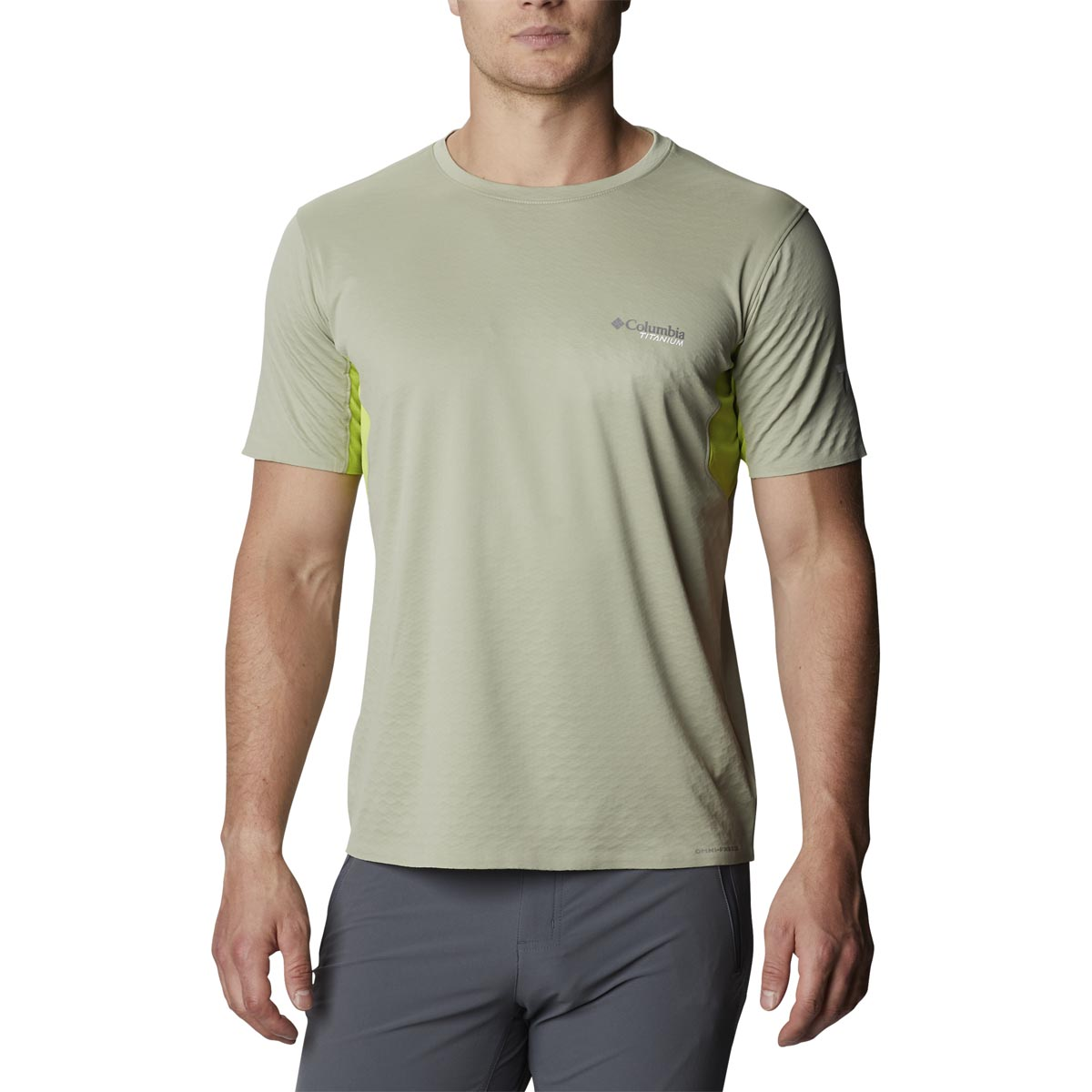 Columbia Mazama Trail Short Sleeve Herre