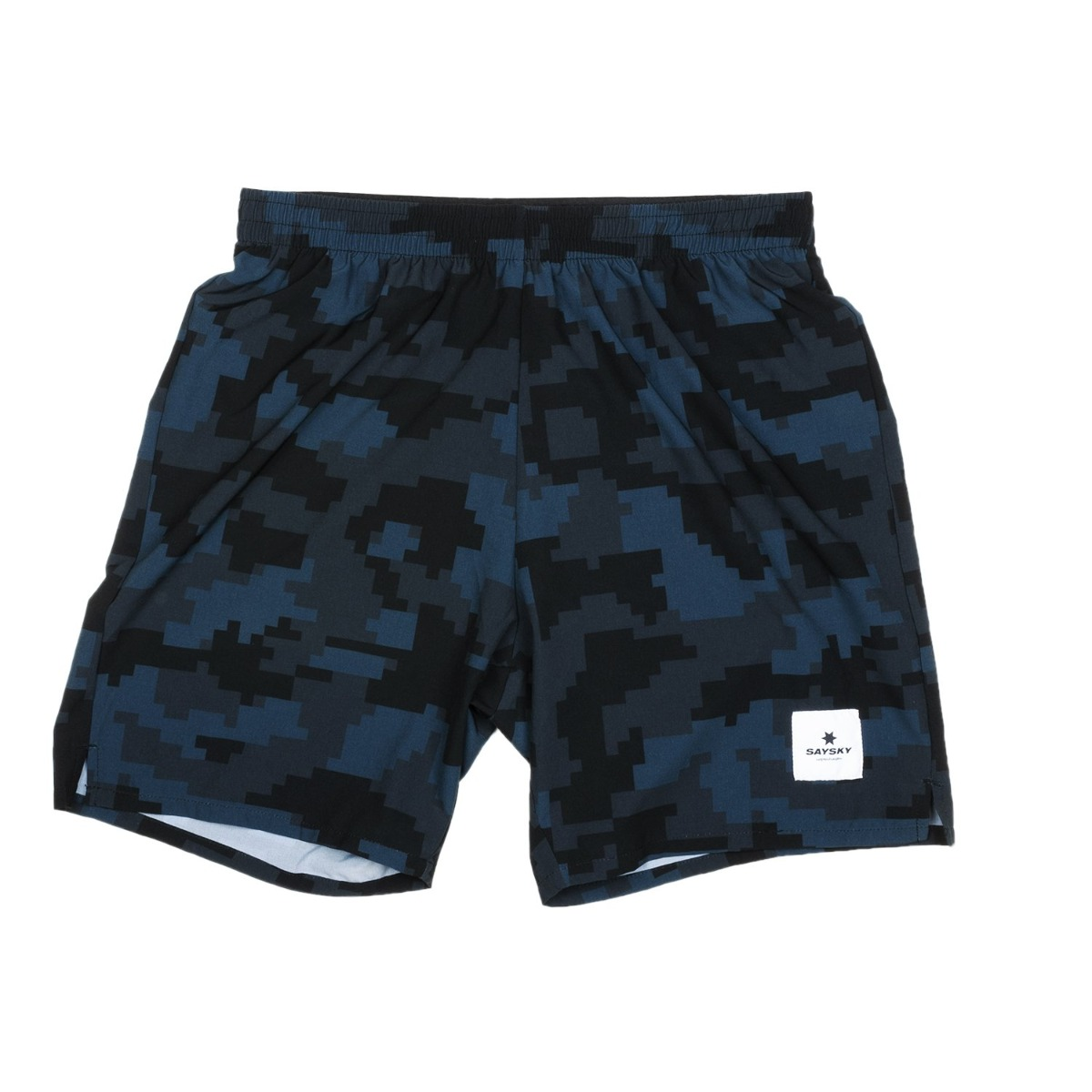SaySky Camo Pace Long Shorts herre