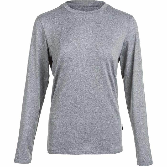 Elite Lab Sustainable X1 Elite LS Tee Mid Grey dame