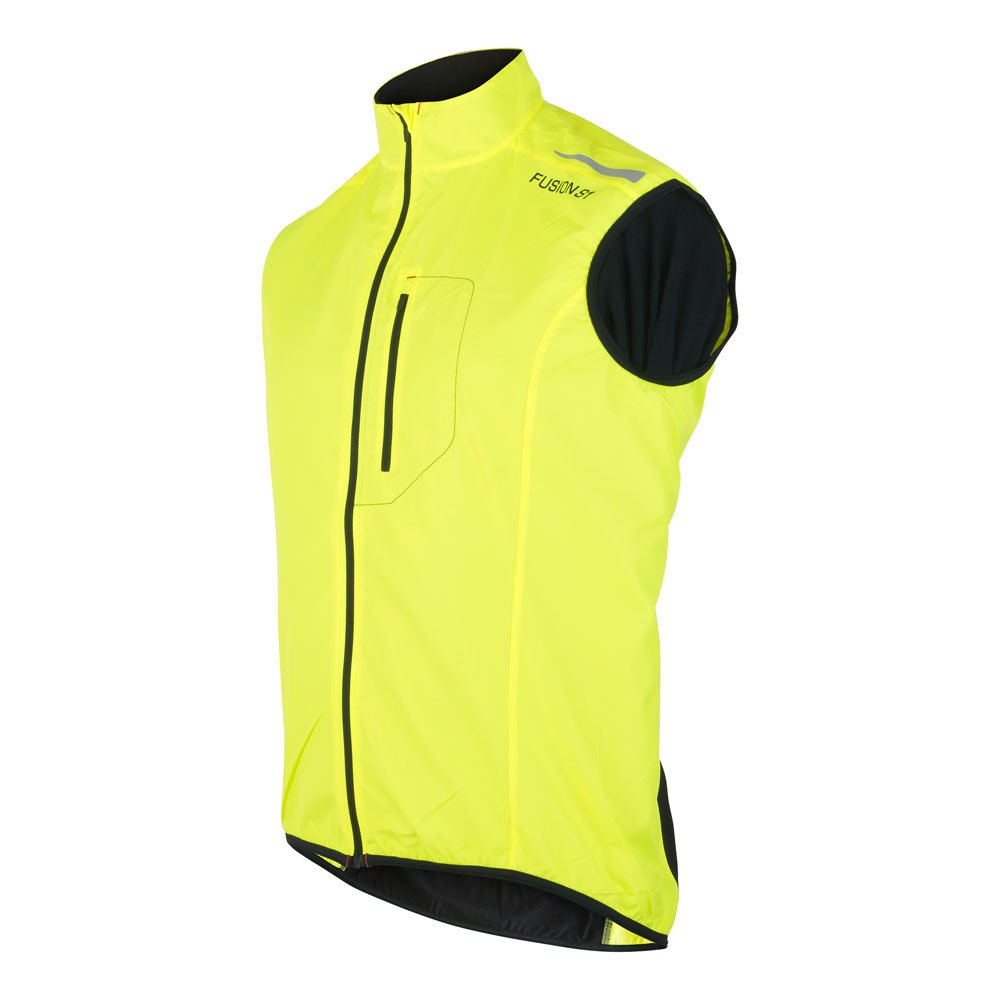 Fusion S1 Run Vest herre Yellow/Black