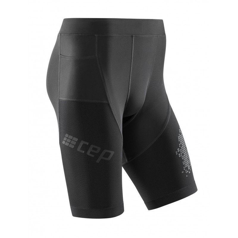 CEP Run Shorts 3.0 Black herre