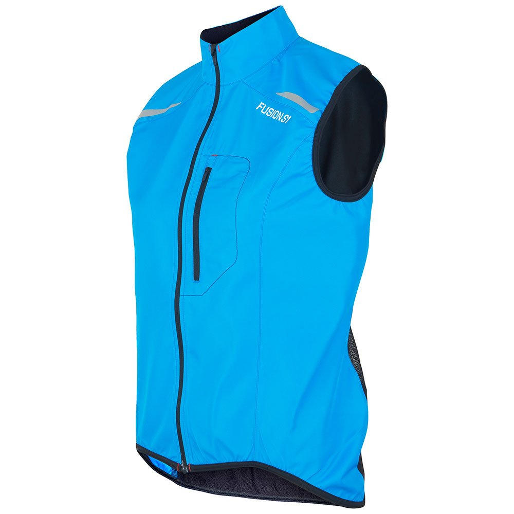 Fusion S1 Run Vest dame Surf/Black