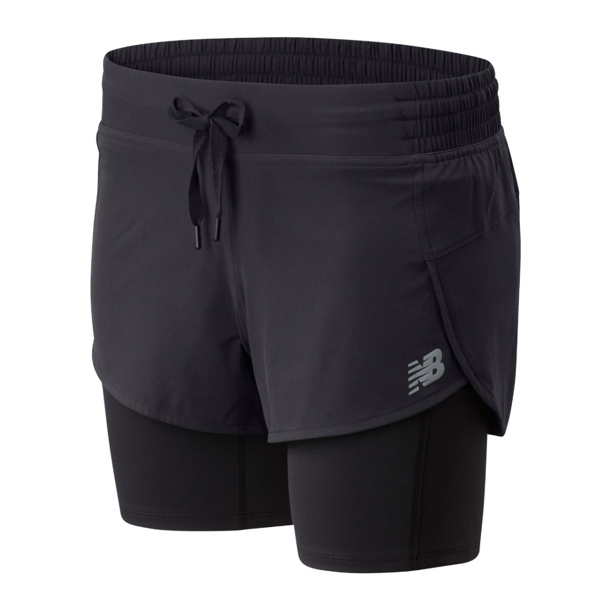 New Balance Impact Run 2 in 1 Shorts dame