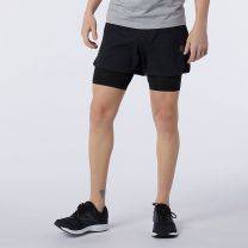 New Balance Q Speed 2 in 1 Shorts Herre