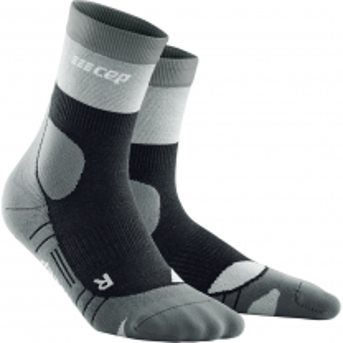 CEP Hiking Light Merino Mid Cut Socks grey men