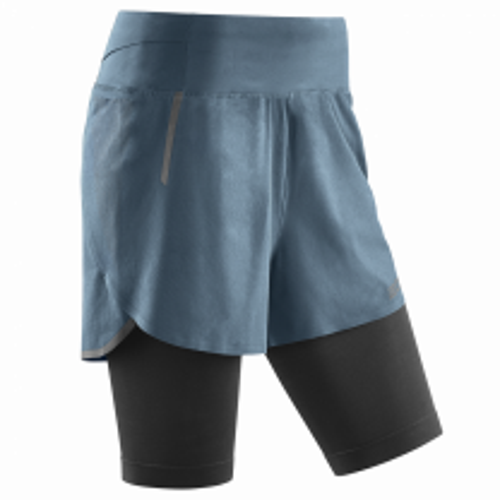 CEP Run 2in1 Shorts 3.0 Grey dame