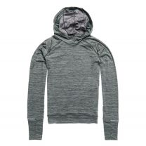 Superdry Running Hooded Mid Layer Dame