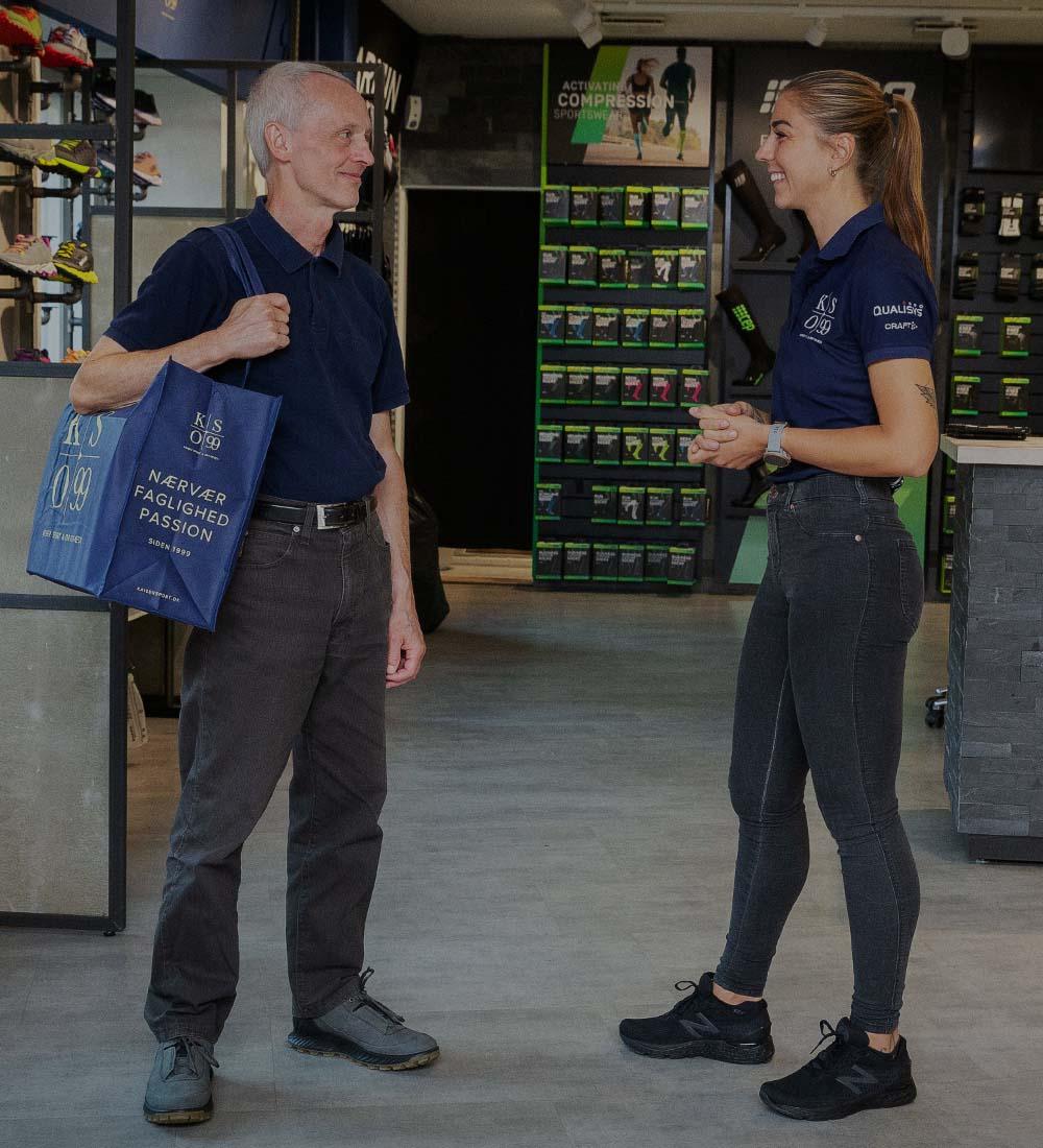 Kaiser Sport & Ortopædi - Bestil en personlig rådgiver til køb af gåsko