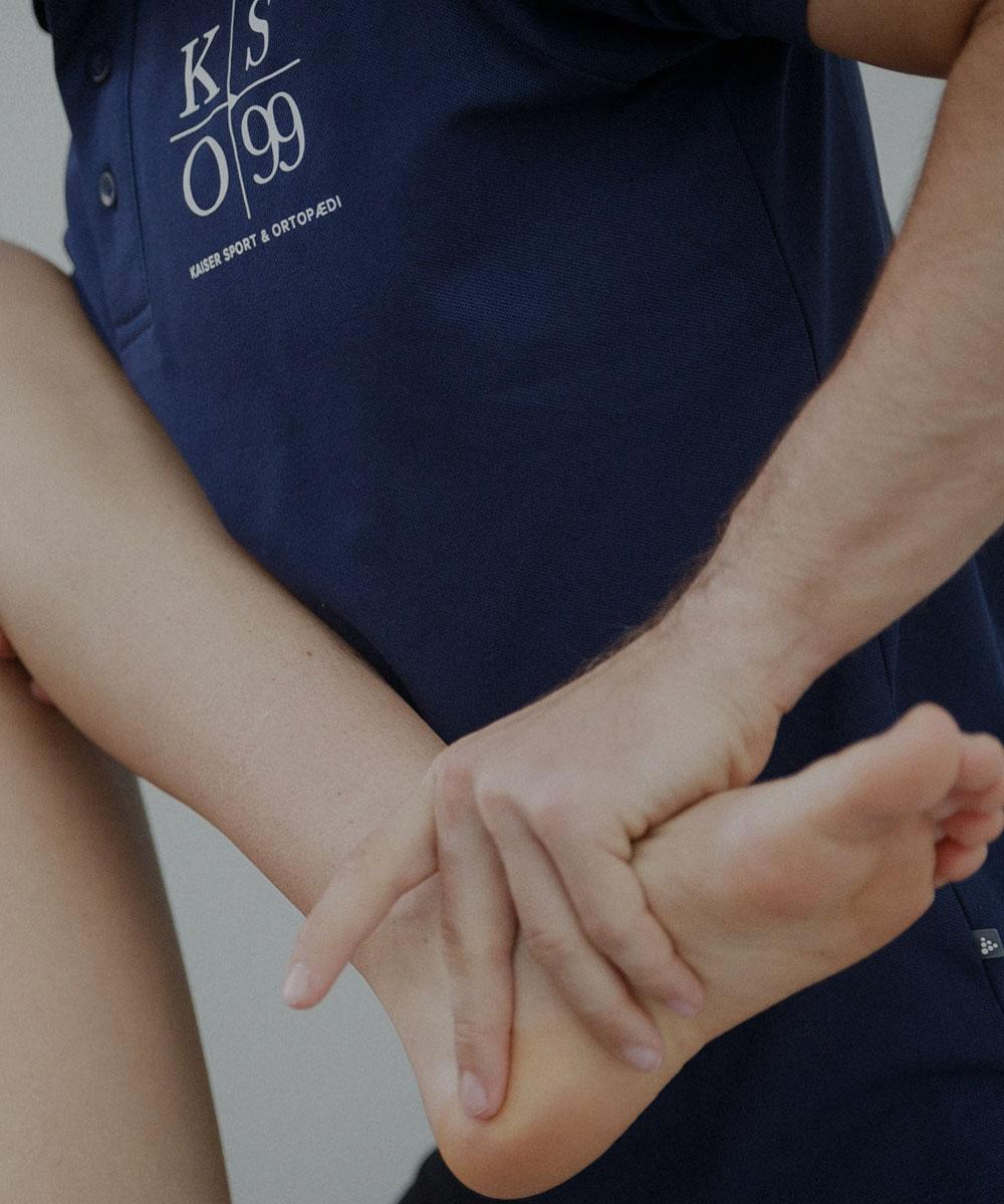 Bestil tid til fysioterapi, osteopati og ortopædiske indlæg, hos kaiser sport & ortopædi