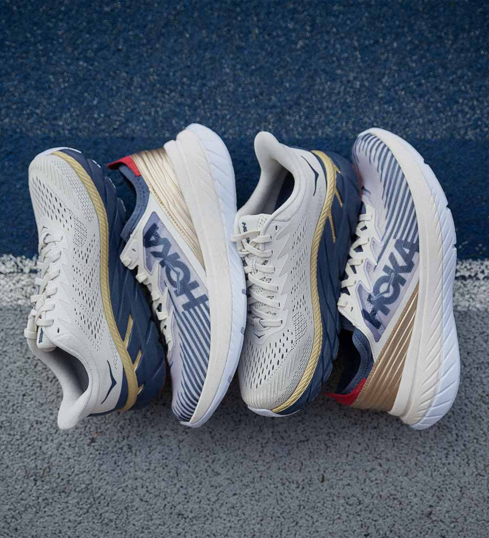 Hoka One One Carbon X-SPE, Clifton 7 TK-pack
