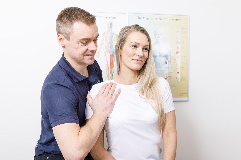 Behandling, fysioterapi, special indlæg, osteopati, sportsskader