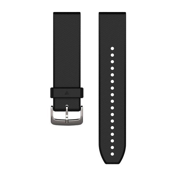 Garmin 22 mm QuickFit rem - Sort