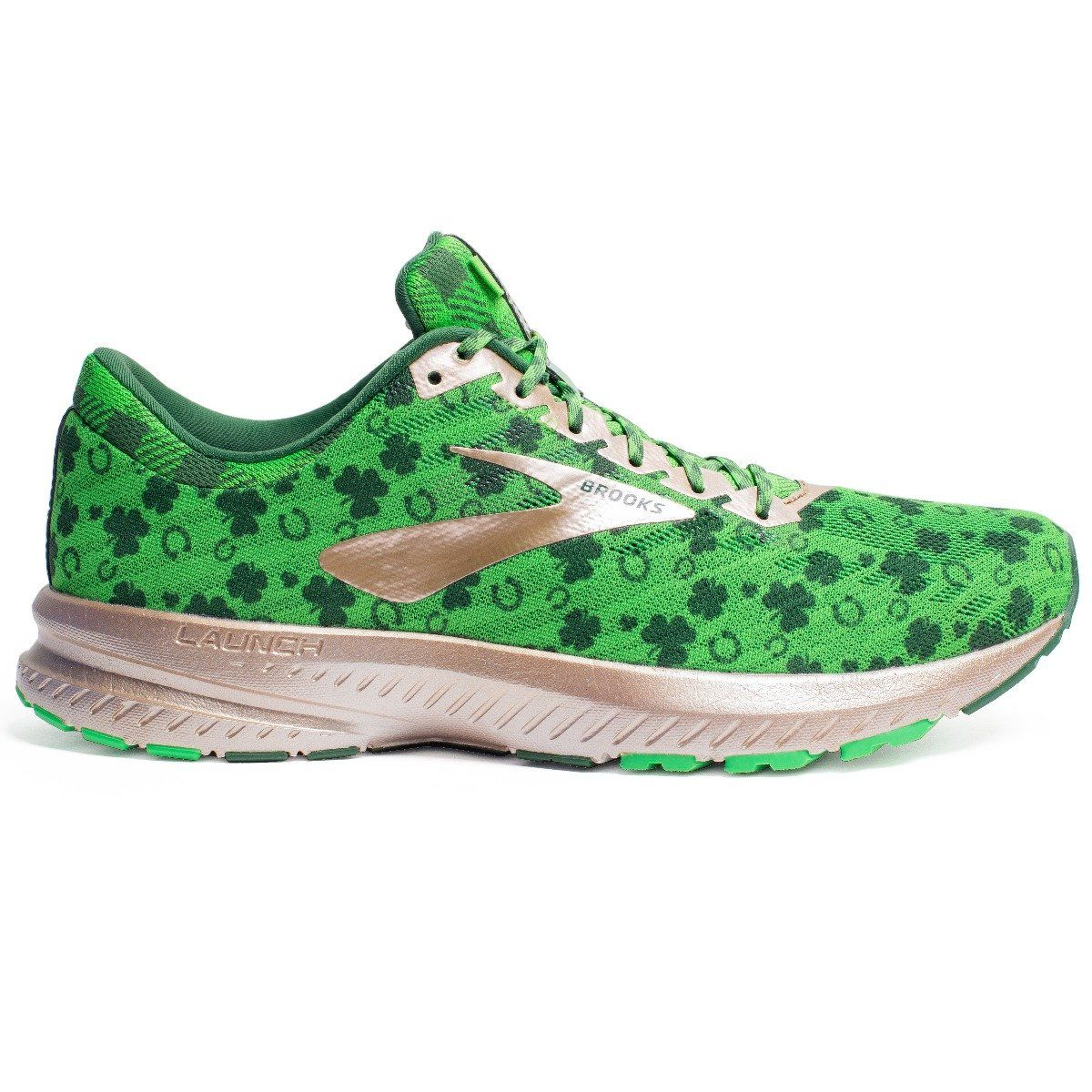 Brooks Launch 6 St Patty's herre