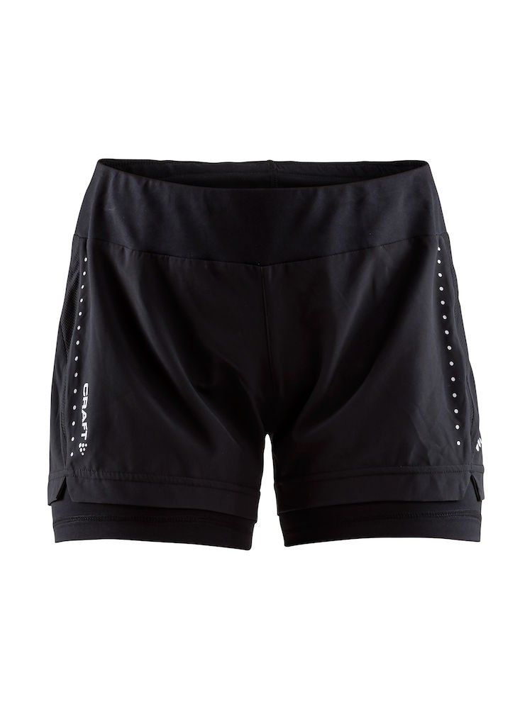 Craft Essential 2-in-1 Shorts dame