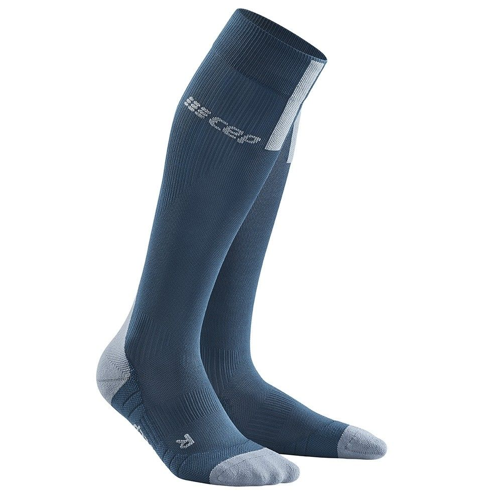 CEP Run Ultralight Socks, blue/light grey dame