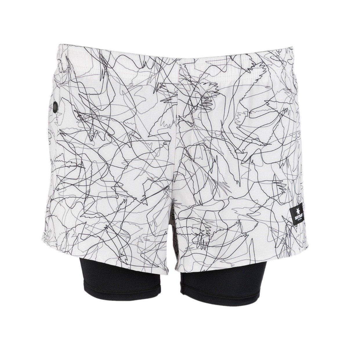 Saysky Falcon 2 In 1 Shorts dame