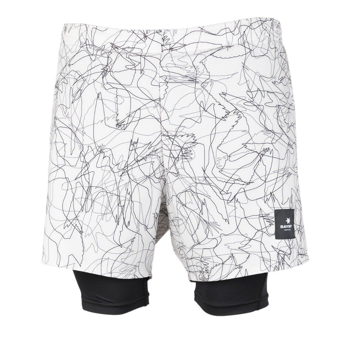 Saysky Falcon 2 In 1 Shorts herre