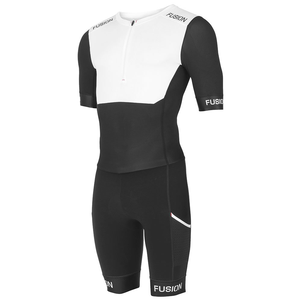 Fusion SLi Speedsuit White/Black
