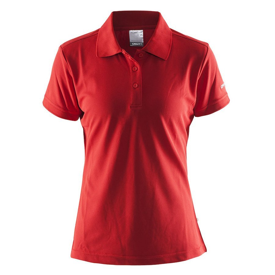Craft Pique Polo Shirt dame