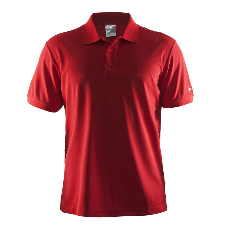 Craft Pique Polo Shirt herre