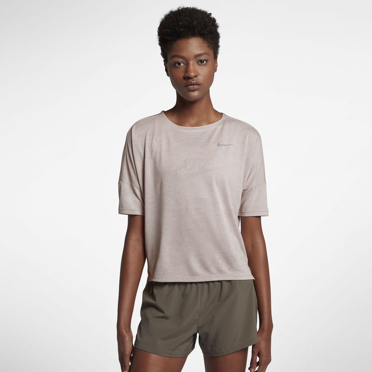 Nike Dry-Fit Medalist Short Sleeve dame