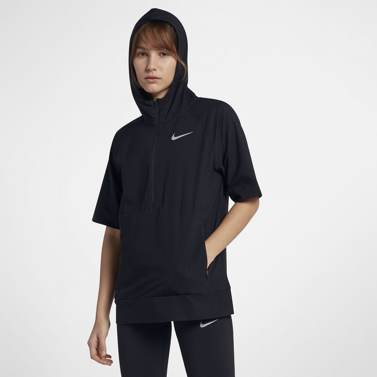Nike Flex Jacket Short Sleeve dame