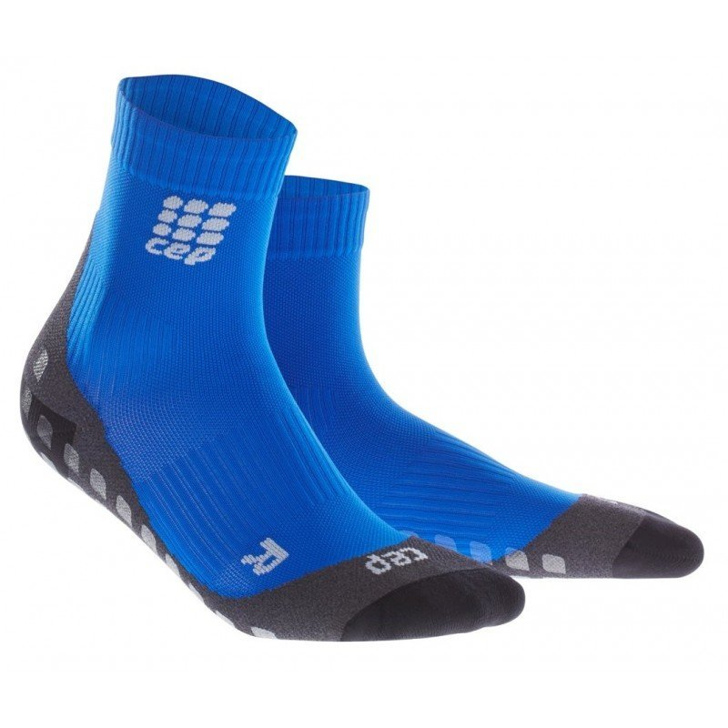 CEP Griptech Short Socks W - Blue