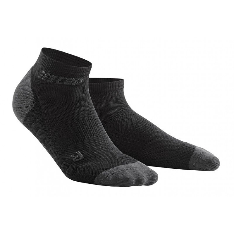CEP low cut socks 3.0, black/dark grey, women