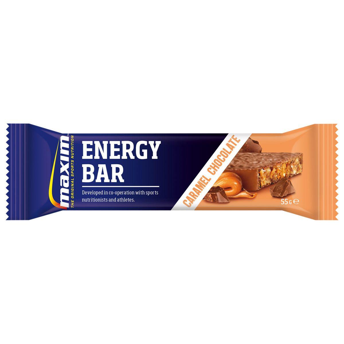 Maxim Energy Bar Caramel Choco, 55 g