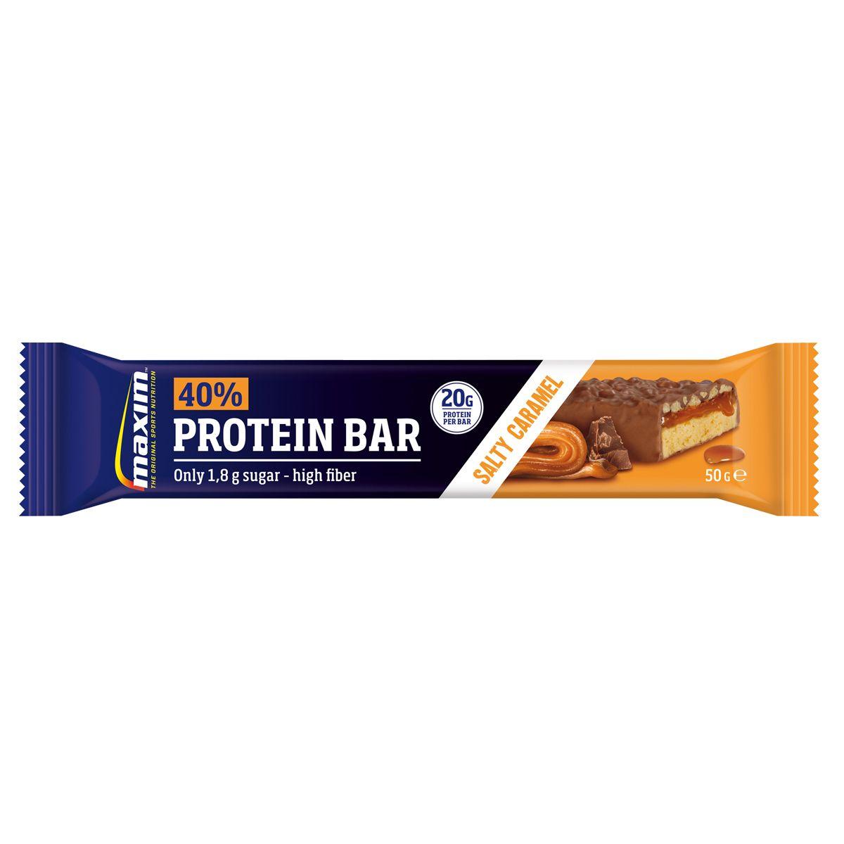 Maxim 40% Protein Bar Caramel, 50 g