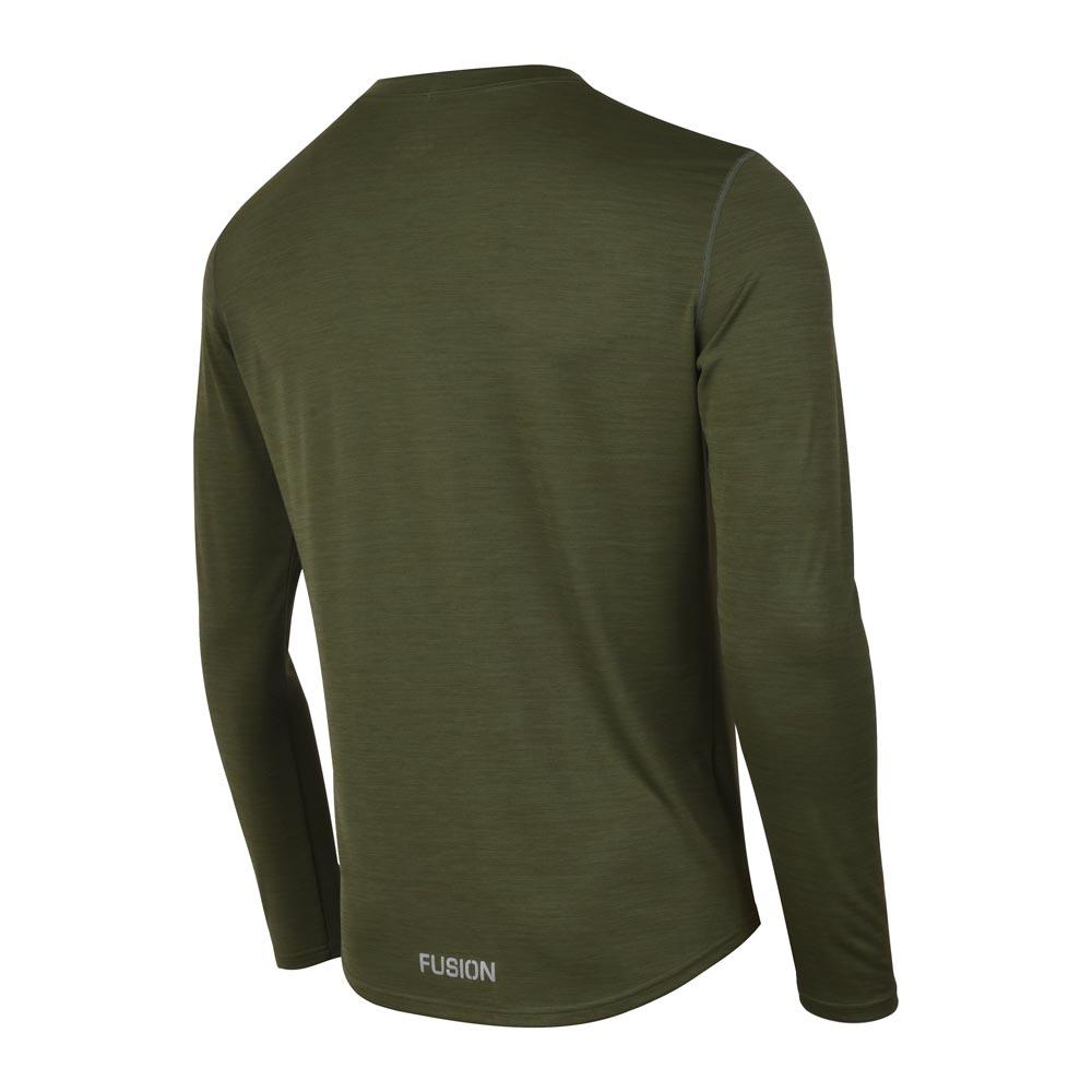 Fusion C3 LS Shirt herre Greenmelange
