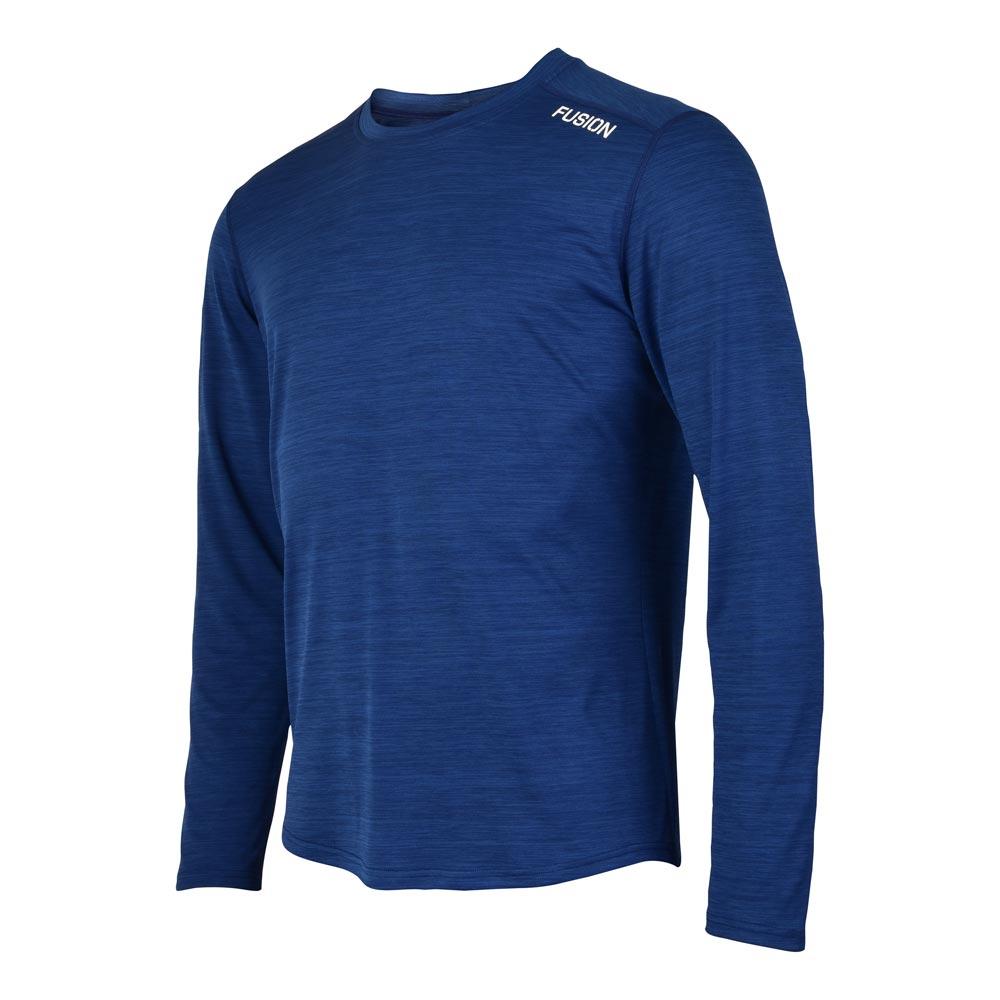 Fusion C3 LS Shirt herre Nightmelange