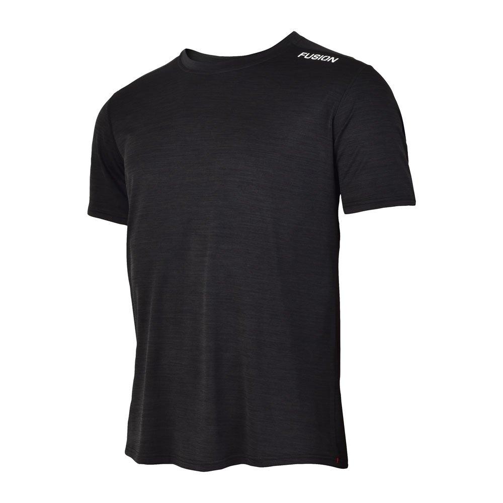 Fusion C3 T-shirt herre Blackmelange