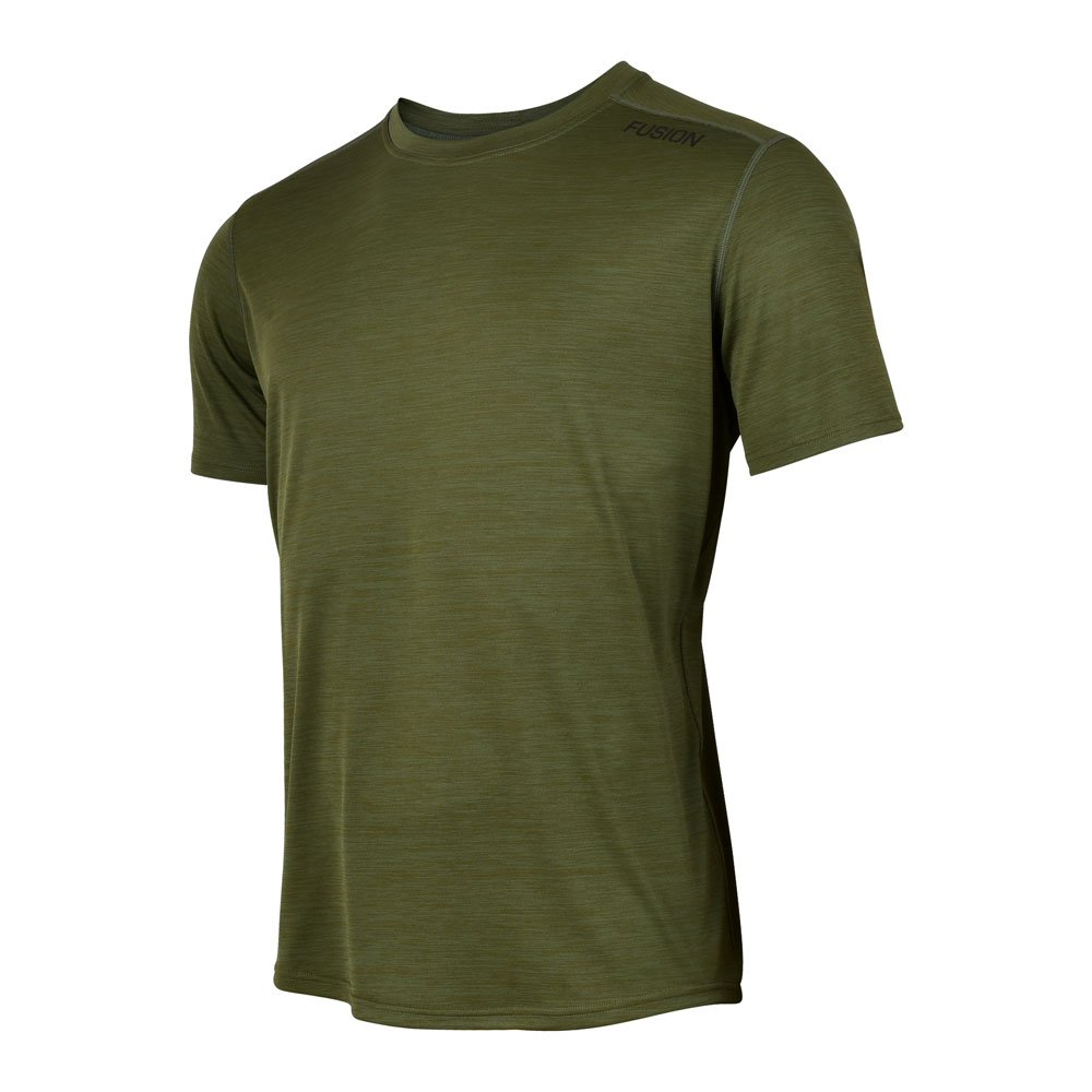 Fusion C3 T-shirt herre Greenmelange