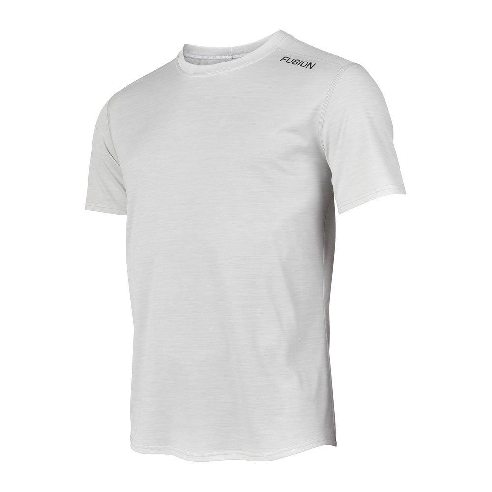 Fusion C3 T-shirt herre Whitemelange