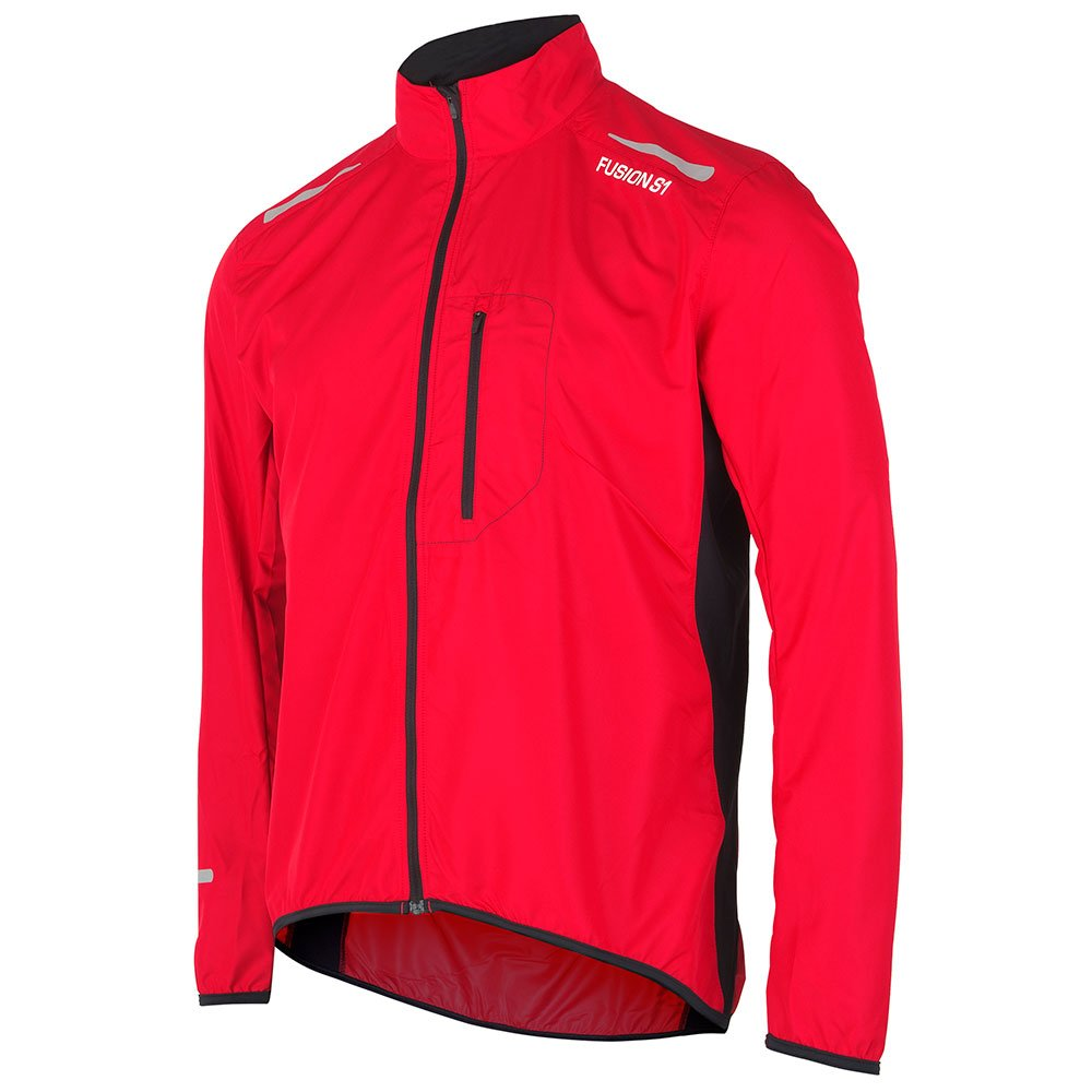 Fusion S1 Run Jakke herre Red/Black
