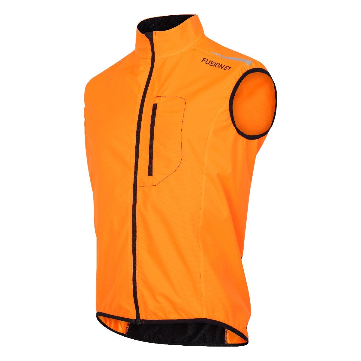 Fusion S1 Run Vest herre Orange