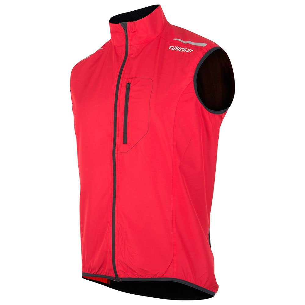 Fusion S1 Run Vest herre Red/Black