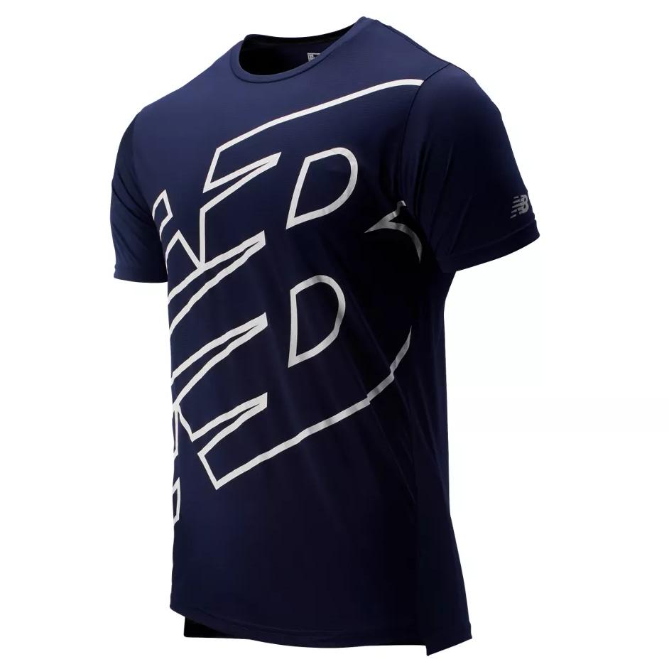 New Balance Printed Accelerate T-shirt herre