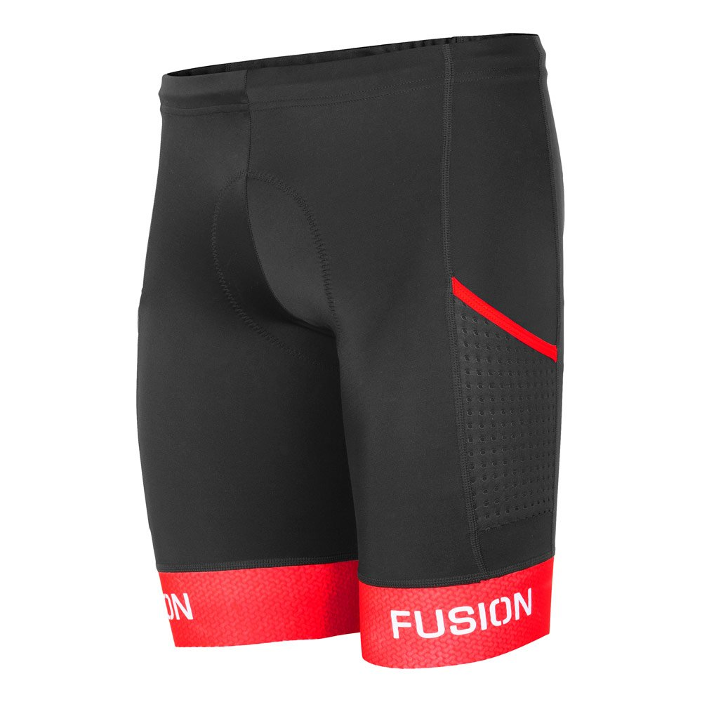 Fusion Tri Pwr Band Pocket Tight unisex Black/Red