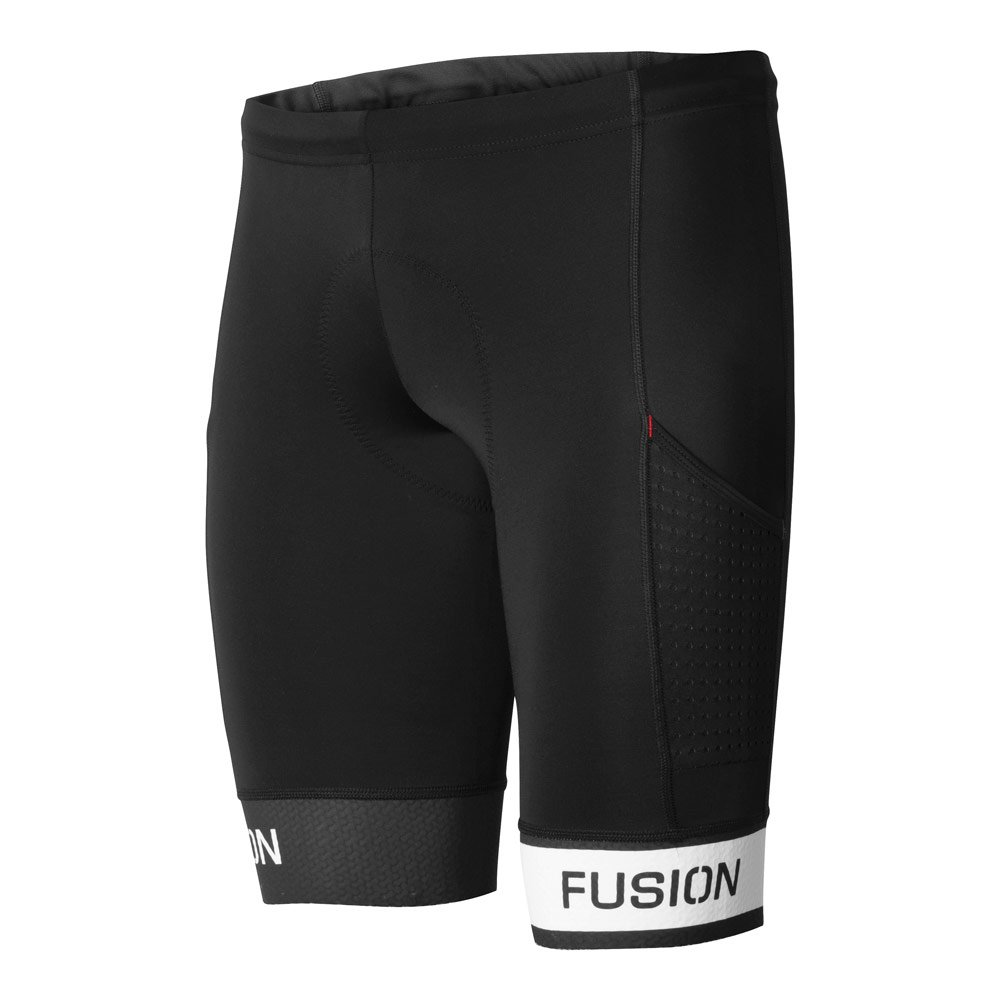 Fusion Tri Pwr Band Pocket Tight unisex Black/White