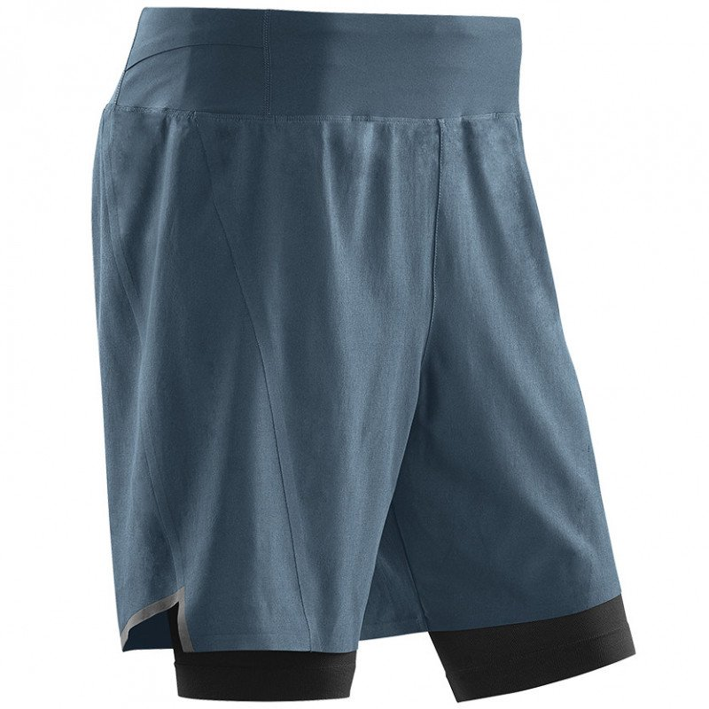 CEP Run 2in1 Shorts 3.0 Grey herre