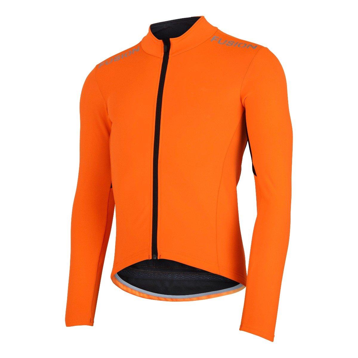 Fusion S3 Cycling Jacket Orange