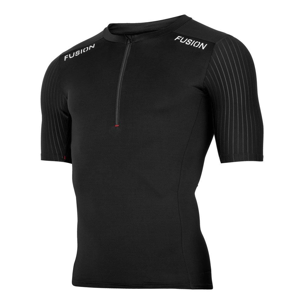 Fusion SLi Tri Top Shirt black herre